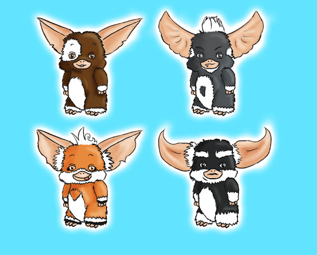 Gremlins Adoptables por MissHeroes94