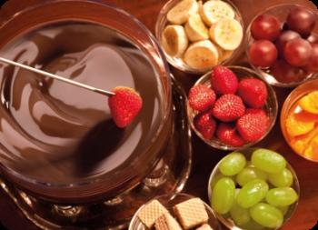 ¿Quién le quitará a Avedo el título de mejor posteador? Fondue+de+chocolate