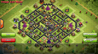 Kumpulan Base Farming TH9 Clash Of Clans Terbaru 2016