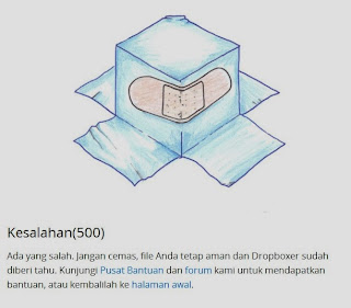 dropbox error