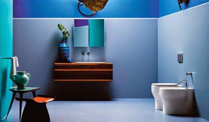Baños Modernos Azules:baños – Decoractual – Diseño y Decoración