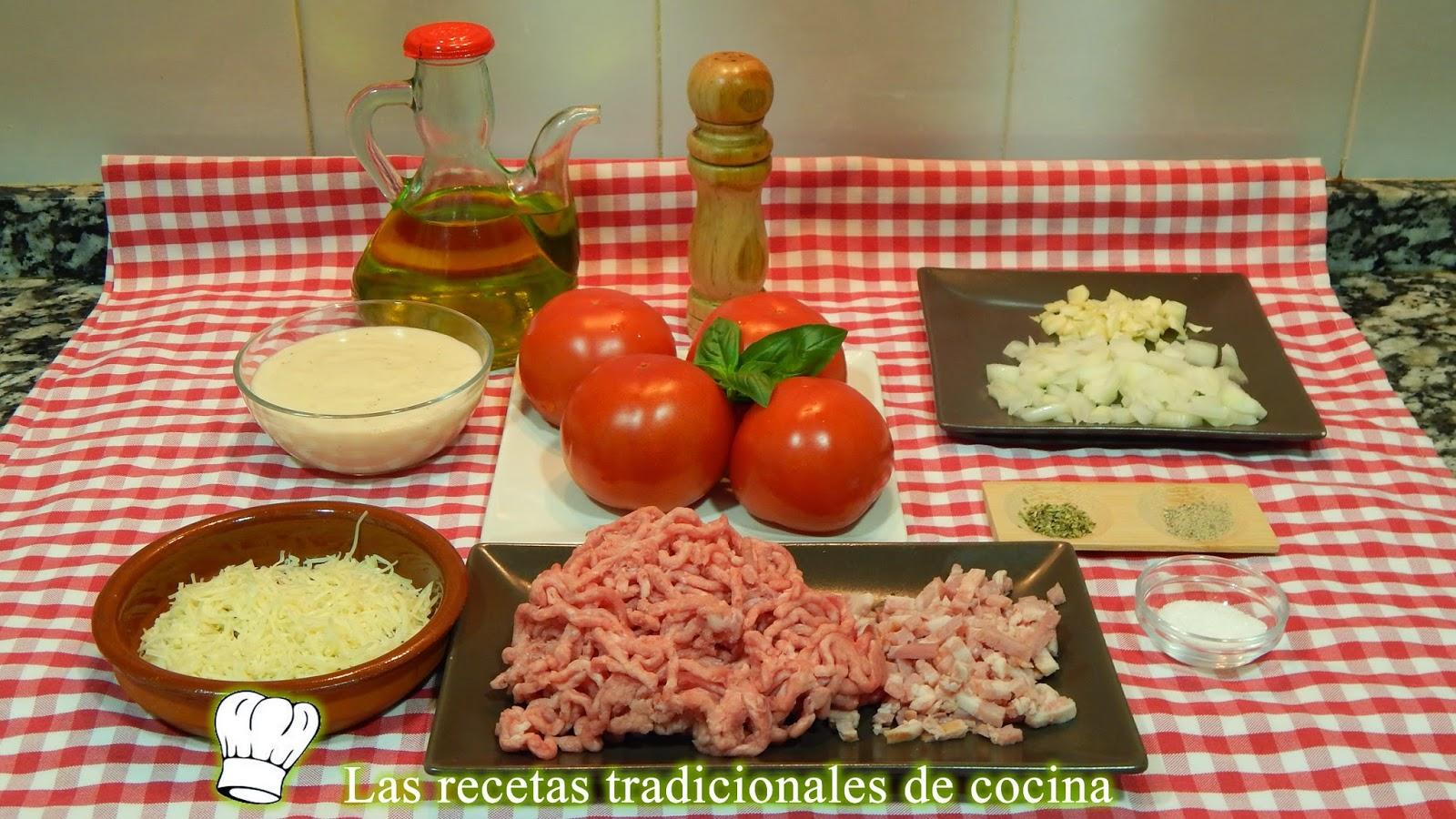Receta de tomates rellenos de carne