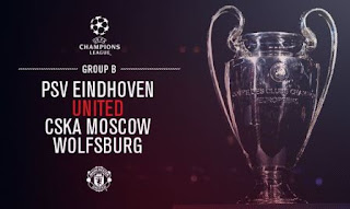 Manchester United di Grup B Liga Champions 2015-2016
