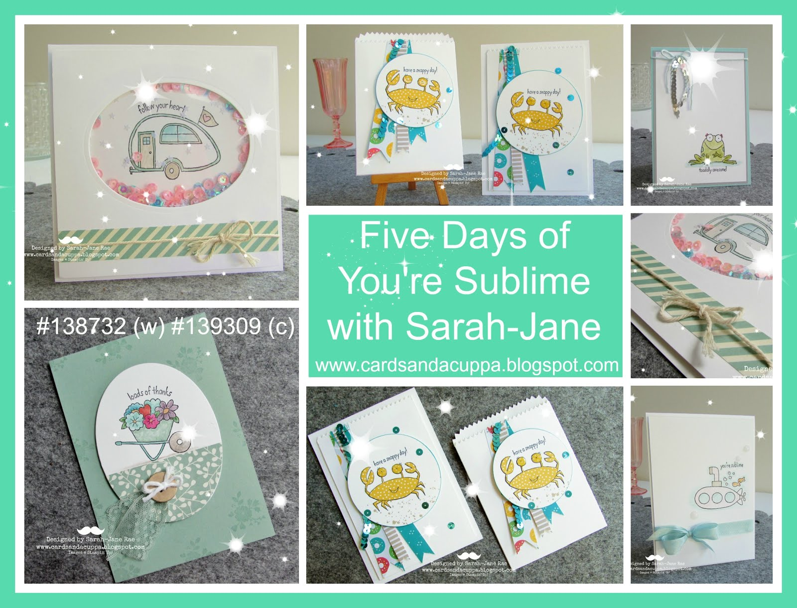 Five days of You're Sublime