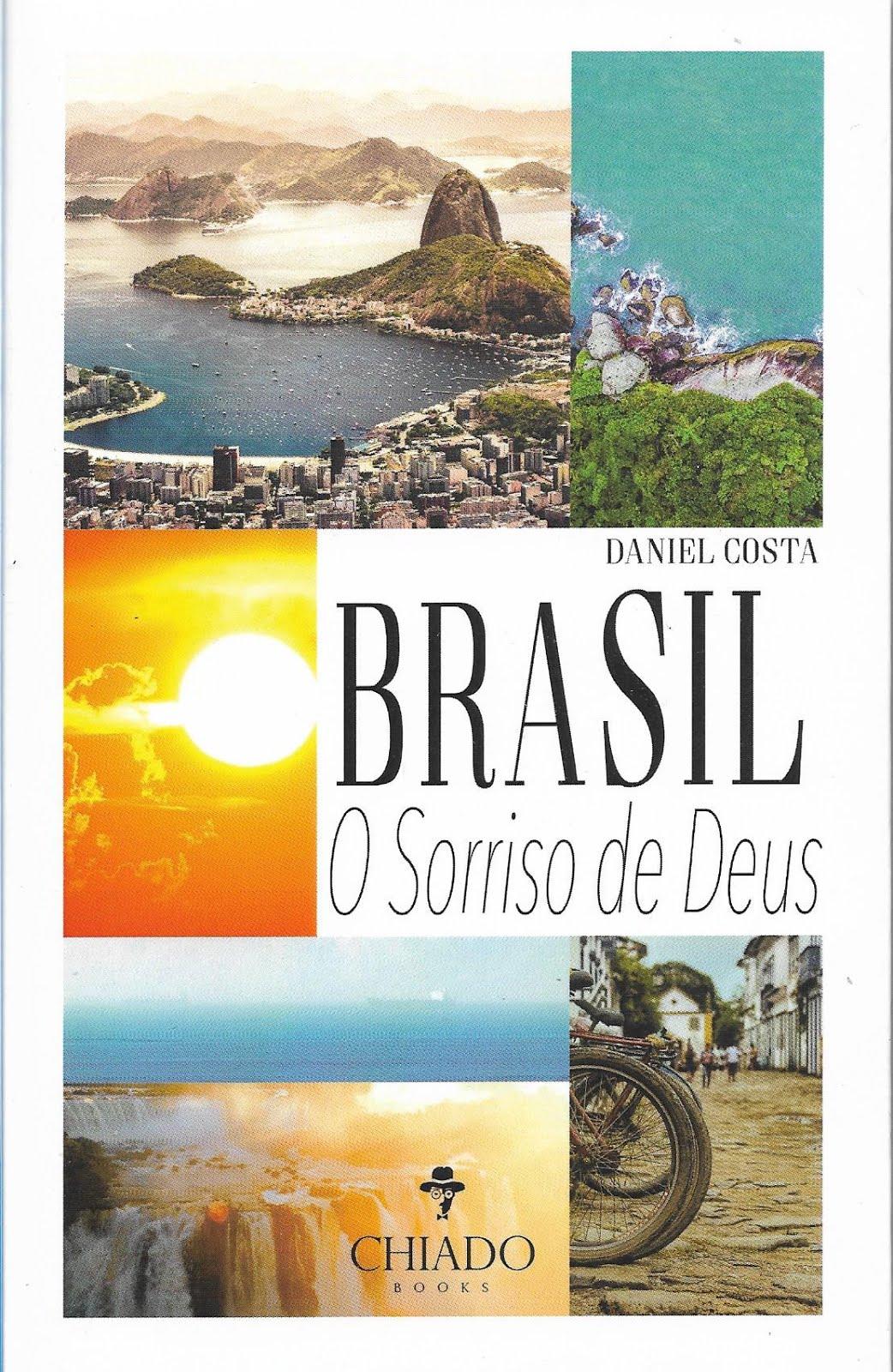Meu 12º. livro BRASIL: O PARAISO DE DEUS - a história da colonização do Brasil.ão