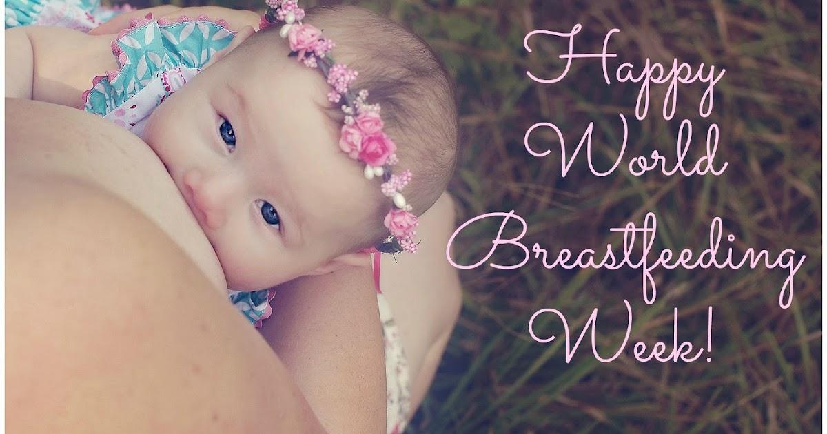Happy World Breastfeeding Week! #normalizebreastfeeding