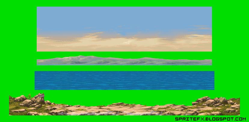 Sprite Fx Sprite Background Land