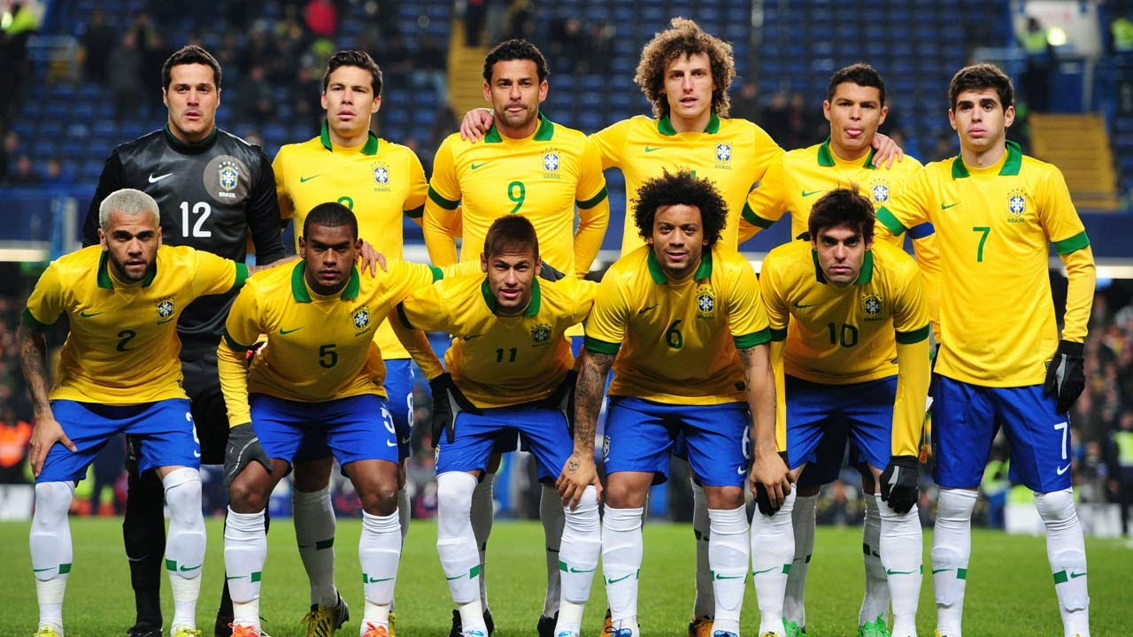 BRAZIL PLAYERS- 2014 FIFA