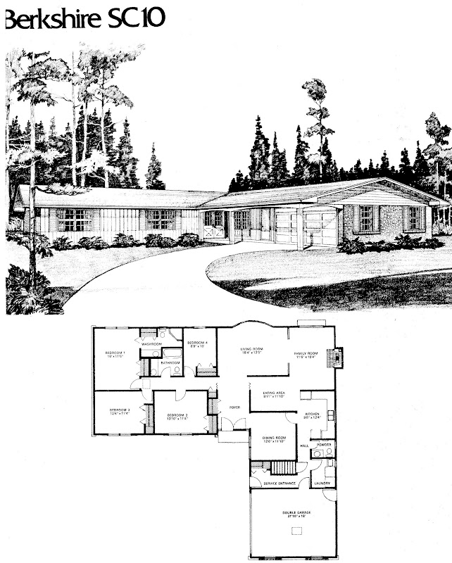 MidCentury Modern and 1970sEra Ottawa Favourite Plans West End