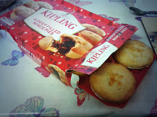 Box of Mr Kipling Mince Pies
