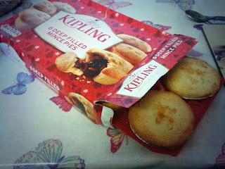 Box of Mr Kipling Mince Pies