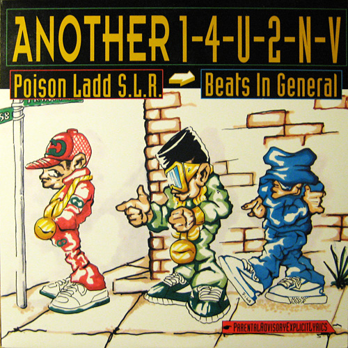 Poison Ladd SLR and Beats In General – Still Another 1-4-U-2-N-V EP (Vinyl) (2010) (VBR)