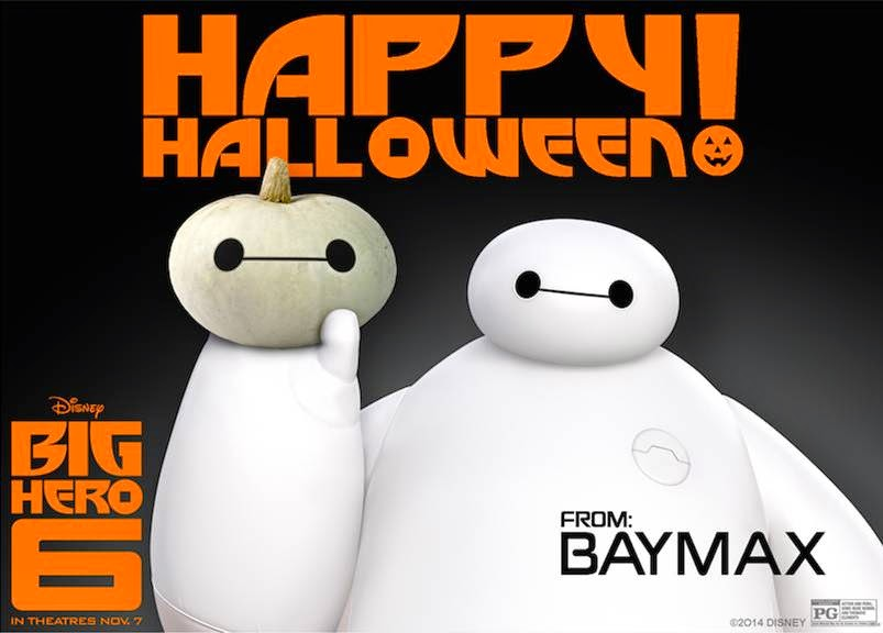 #Halloween Treat! BIG HERO 6 Activities, Pumpkin Stencil and More! #BigHero6