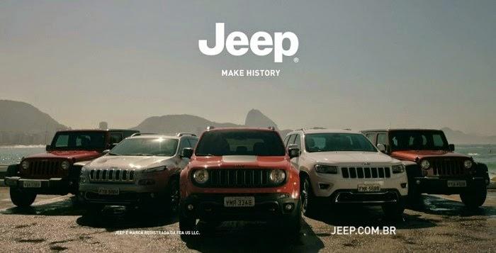 Jeep lança campanha nacional para 2015