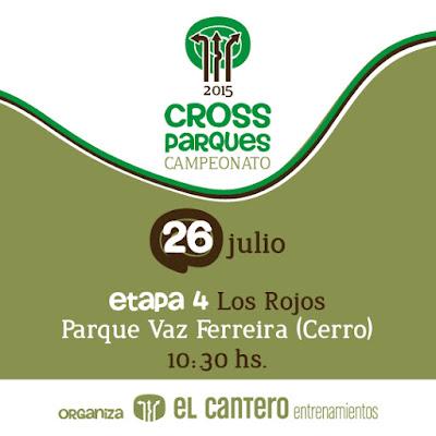 Cross Parque Vaz Ferreira de El Cantero (Cerro de Montevideo, 26/jul/2015)