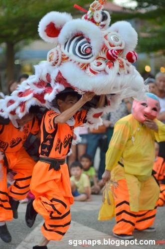 Singapore Snapshots: Lion Dance