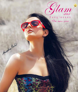 Amisha Patel Glam Sunglasses Photoshoot