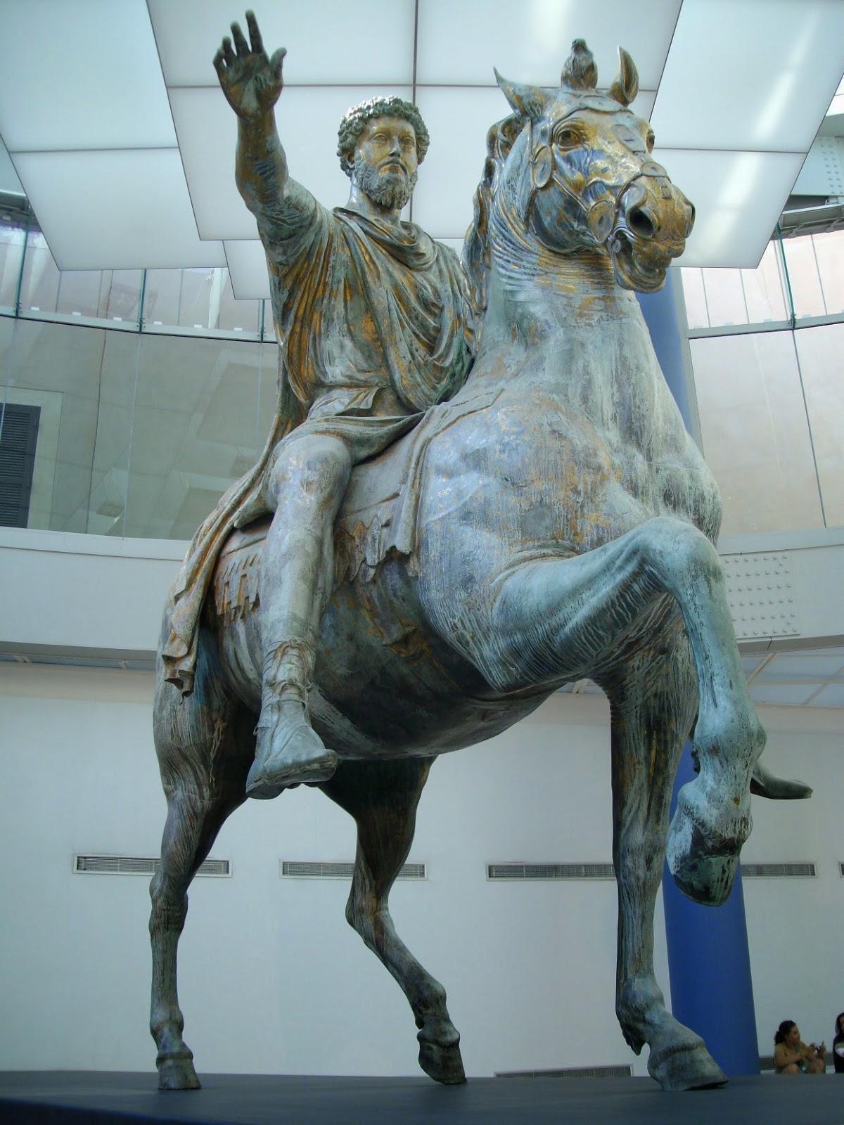 HISTORIA DEL ARTE. TEMAS Y SELECCIÓN DE IMÁGENES: Marco Aurelio