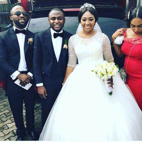 First photos of Lilian Esoro and Ubi Franklin at their wedding