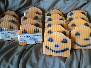 Not-So-Scary Halloween Soaps