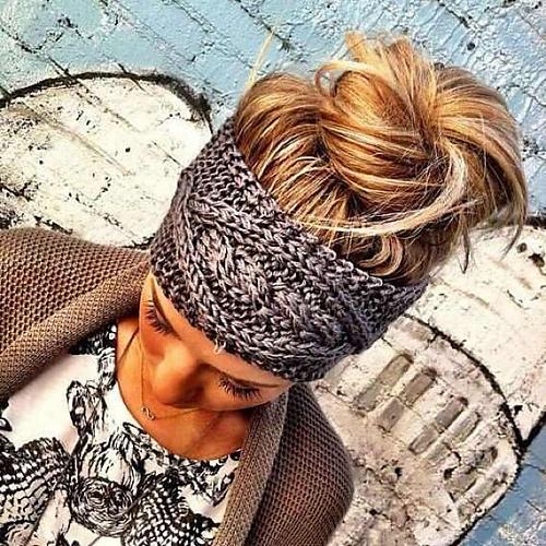 Cable Knit Headband Iknits