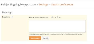 cara memperbaiki duplicate meta description blogger