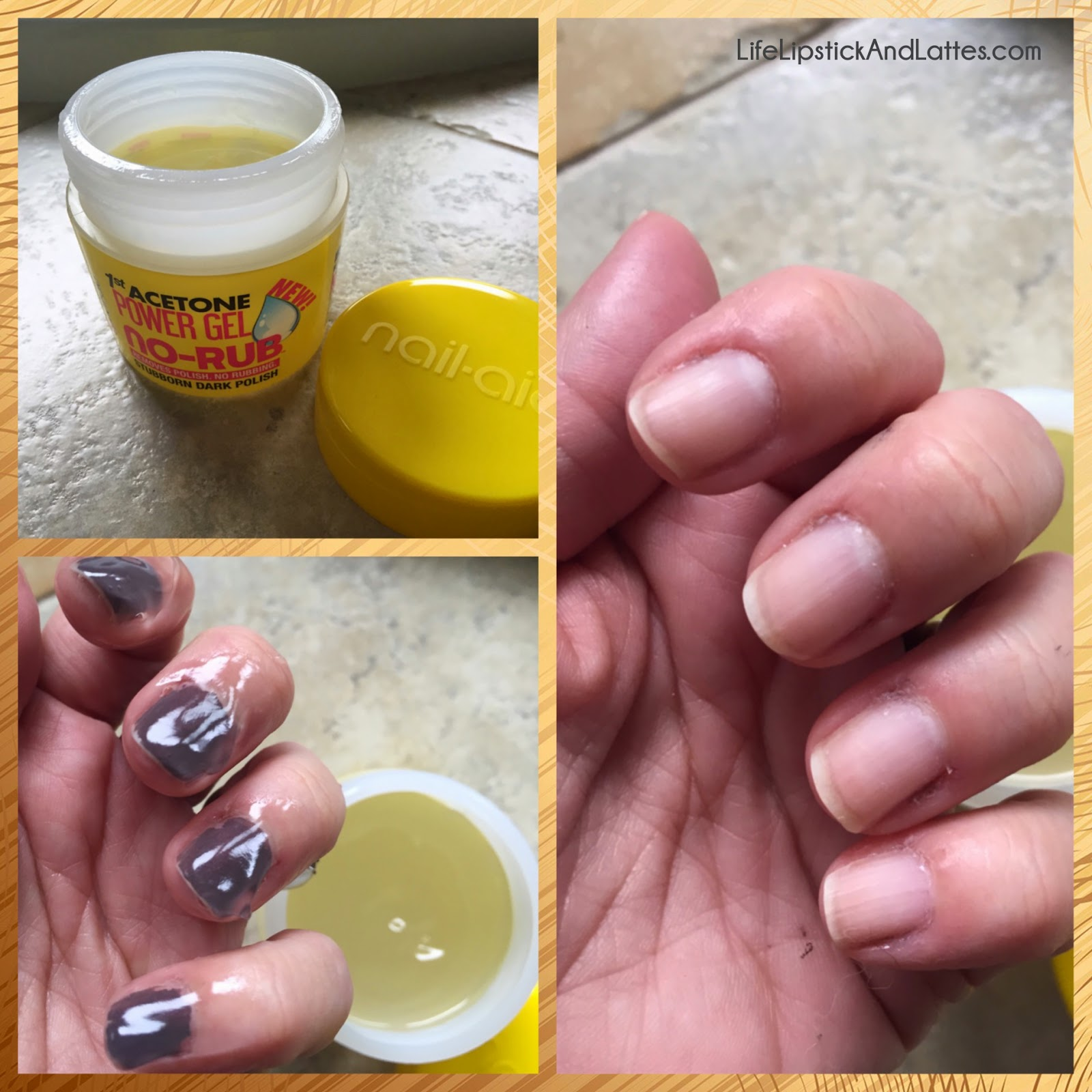 Life, Lipstick and Lattes: Nail Aid Power Gel No Rub Fingernail ...