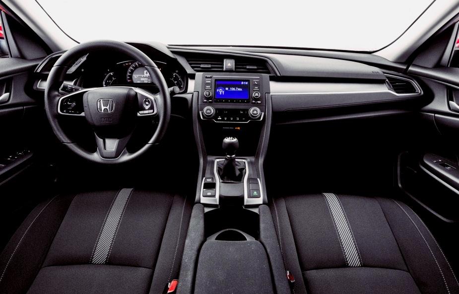 2016 Honda Civic Lx Sedan Cvt With Honda Sensing Review Honda Civic Updates