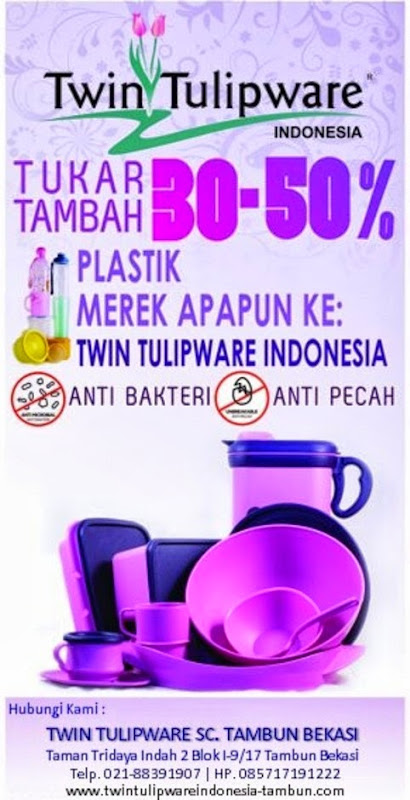 trade in promo produk tulipware 2013