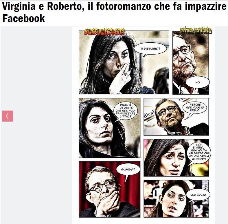 """La """"storia d'amore"""" tra Virginia e Roberto che fa impazzire il web..."""