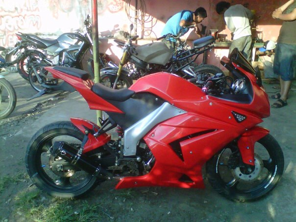 Top modifikasi byson ala r6