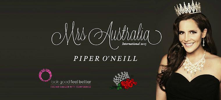 Mrs Australia: Piper O'Neill