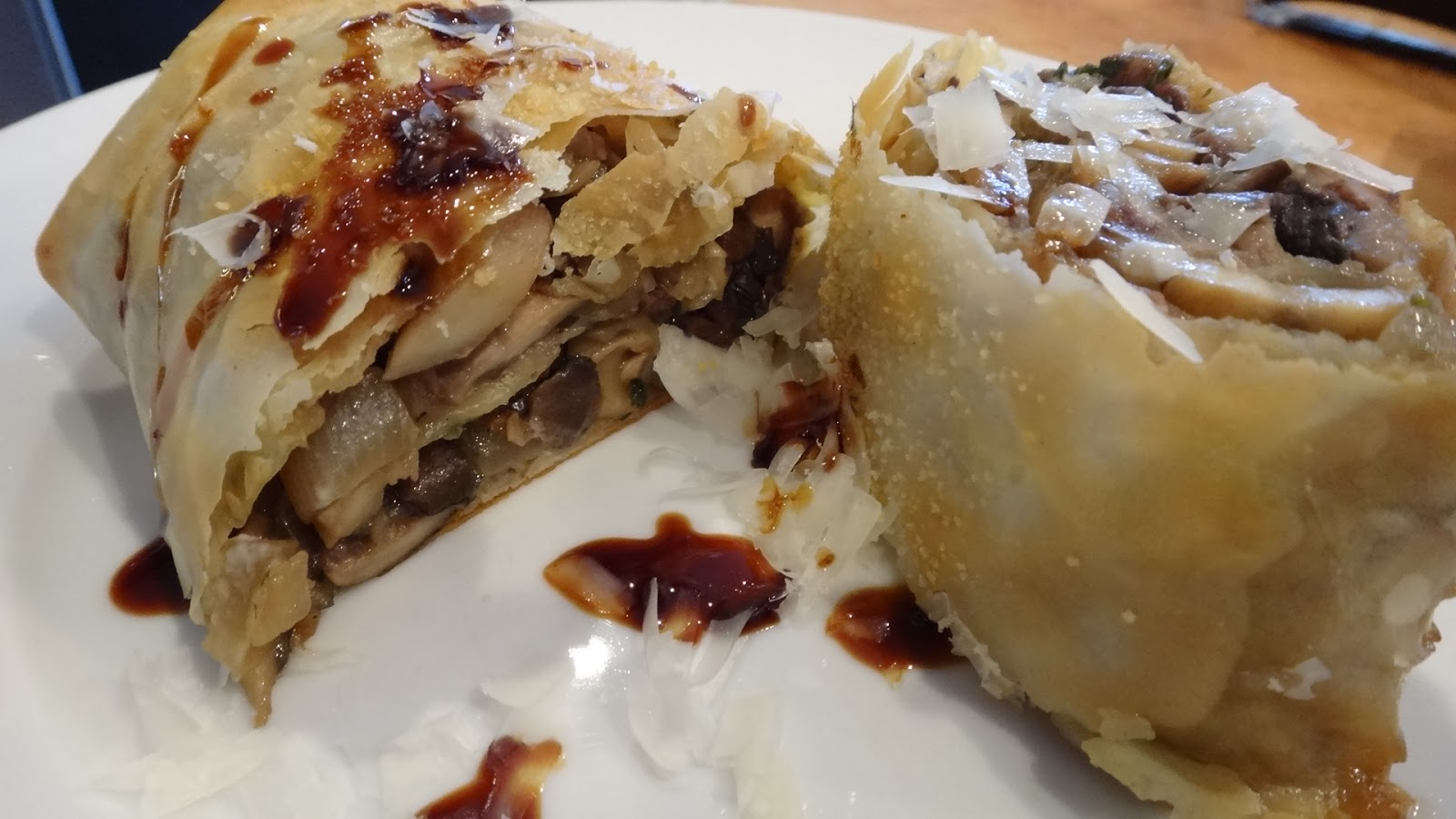 Mushroom Strudel « I WANT TO COOK THAT