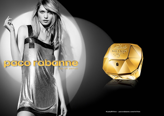 paco rabanne, lady million, parfum, bullelodie