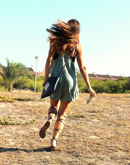 runner - guardamar - atardecer - fashion blogger