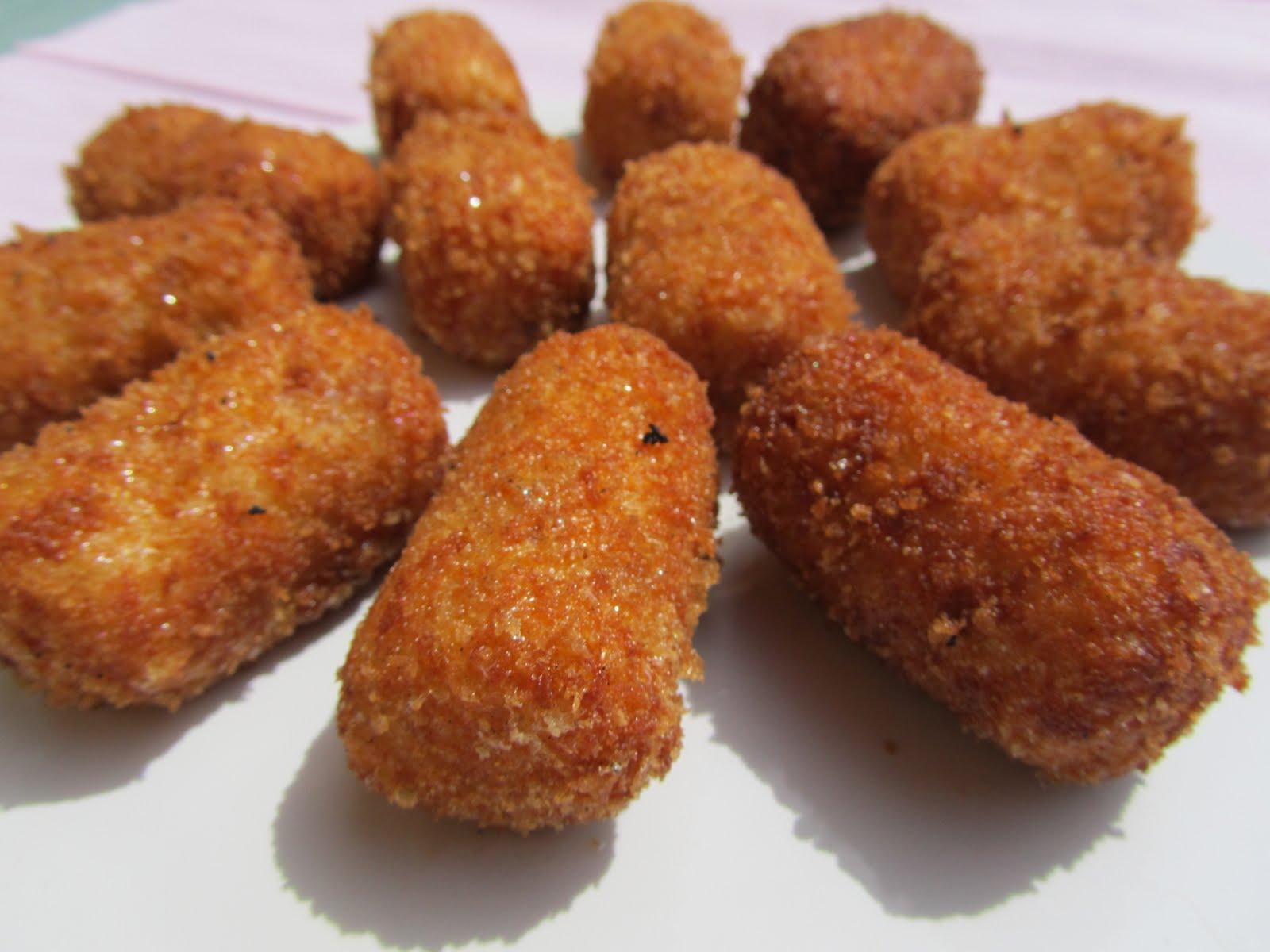Resultado de imagen de croquetas de jamon