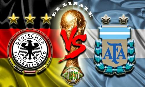 Partai Jerman Menghadapi Argentina Di Laga Puncak Piala Dunia, Senin (14/7)