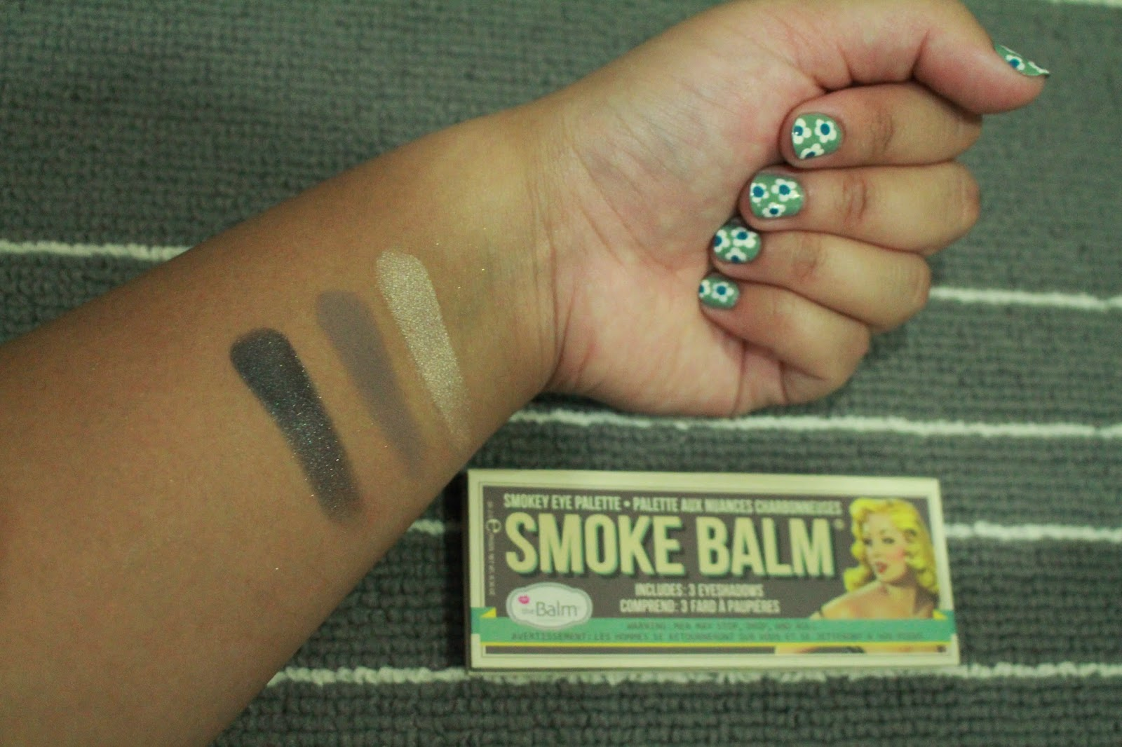 The Balm Smoke Balm Volume 1 Palette Swatch