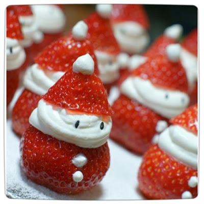 """Fraises """"Père Noël"""""""