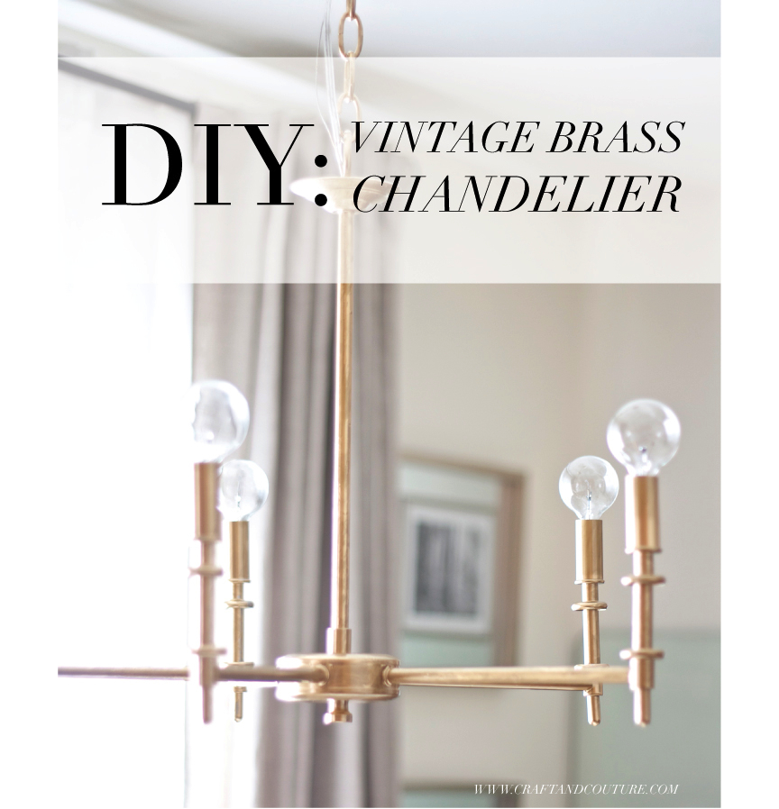 Did A Quick Easy And Very Affordable Diy Recently Updated Our Cur Chandelier That We Ve Had For Quite Some Time It S Got Classic Contemporary Style