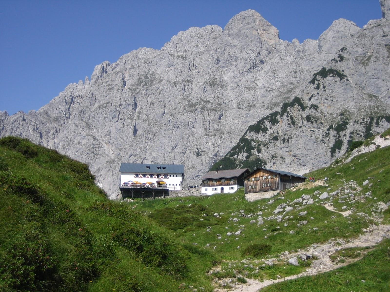 Klettersteig Wilder Kaiser Ellmauer Halt : Klettersteig zum ellmauer halt wilder kaiser m alpin