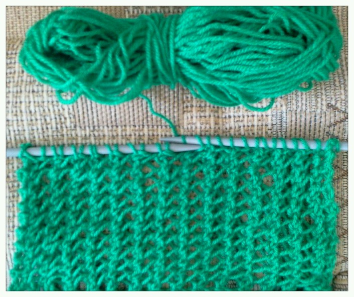 KNITIT: Free Fancy Knitting Stitch: No. 38