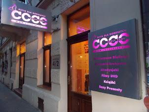 """""""Sex Shop"""" in Krakow."""