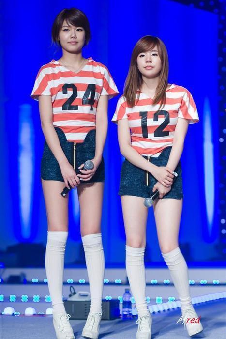 legs; namely Kwon Yuri,