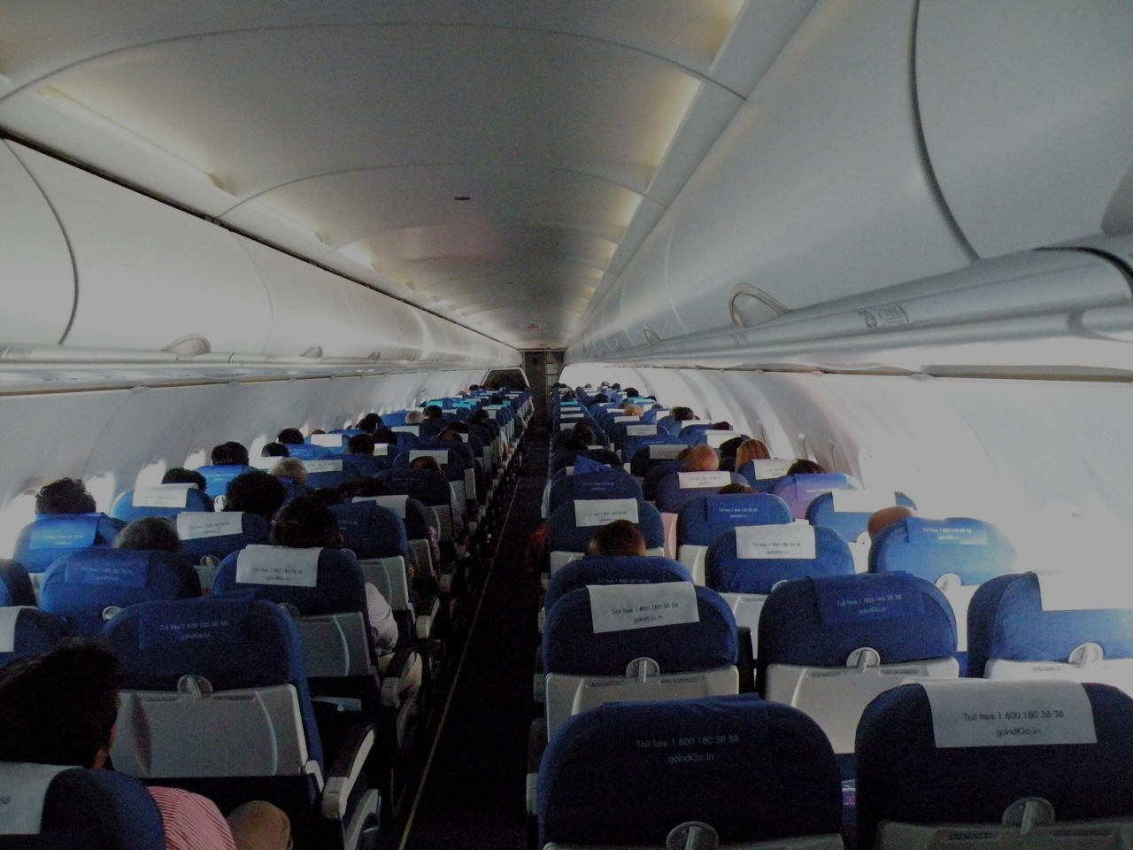 Flight Deck India: Half empty IndiGo flight in peak season ...