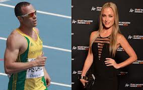 reeva steenkamp pics with oscar pistorius