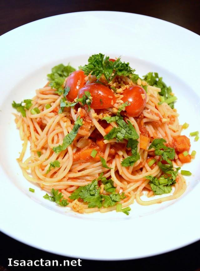 Tomato Pasta - RM10.90