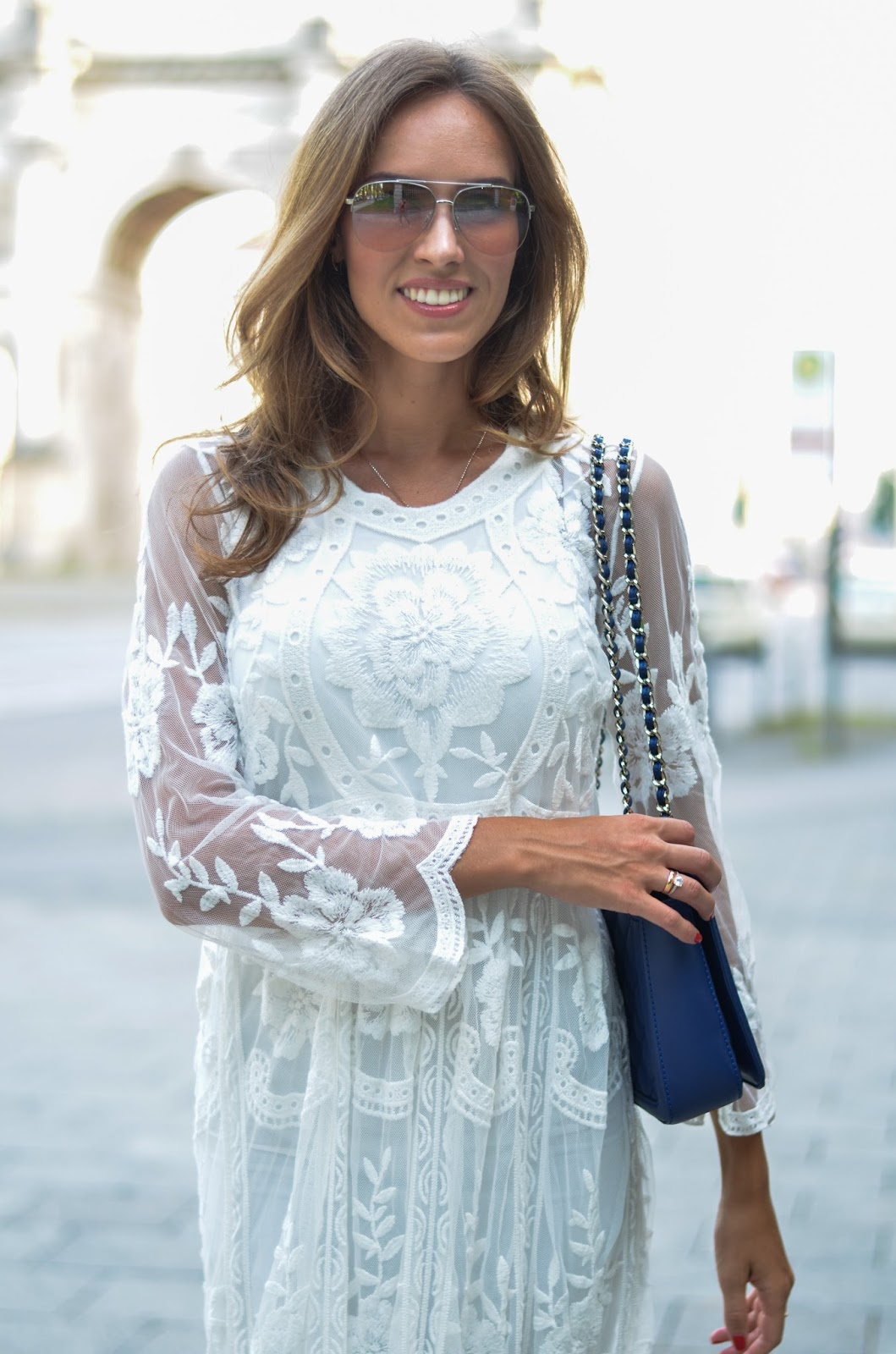 kristjaana mere chicwish lace dress fashion blog