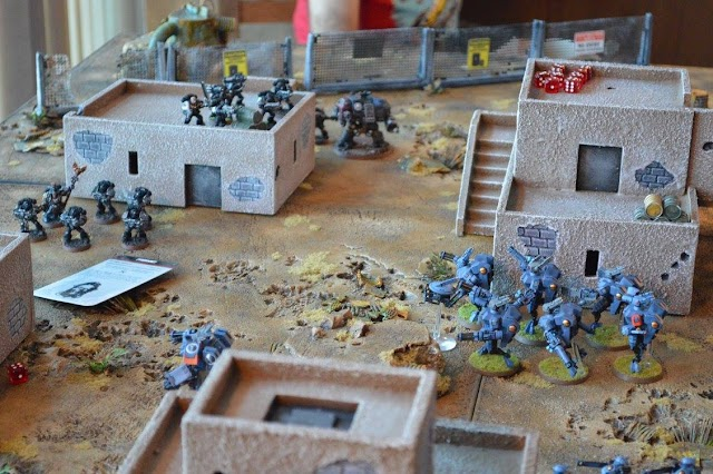 Deathwatch vs Tau Empire- SN Battle Reports