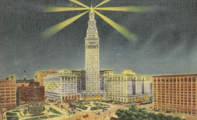 Vintage Postcard of Cleveland #vintage #cleveland #ohio